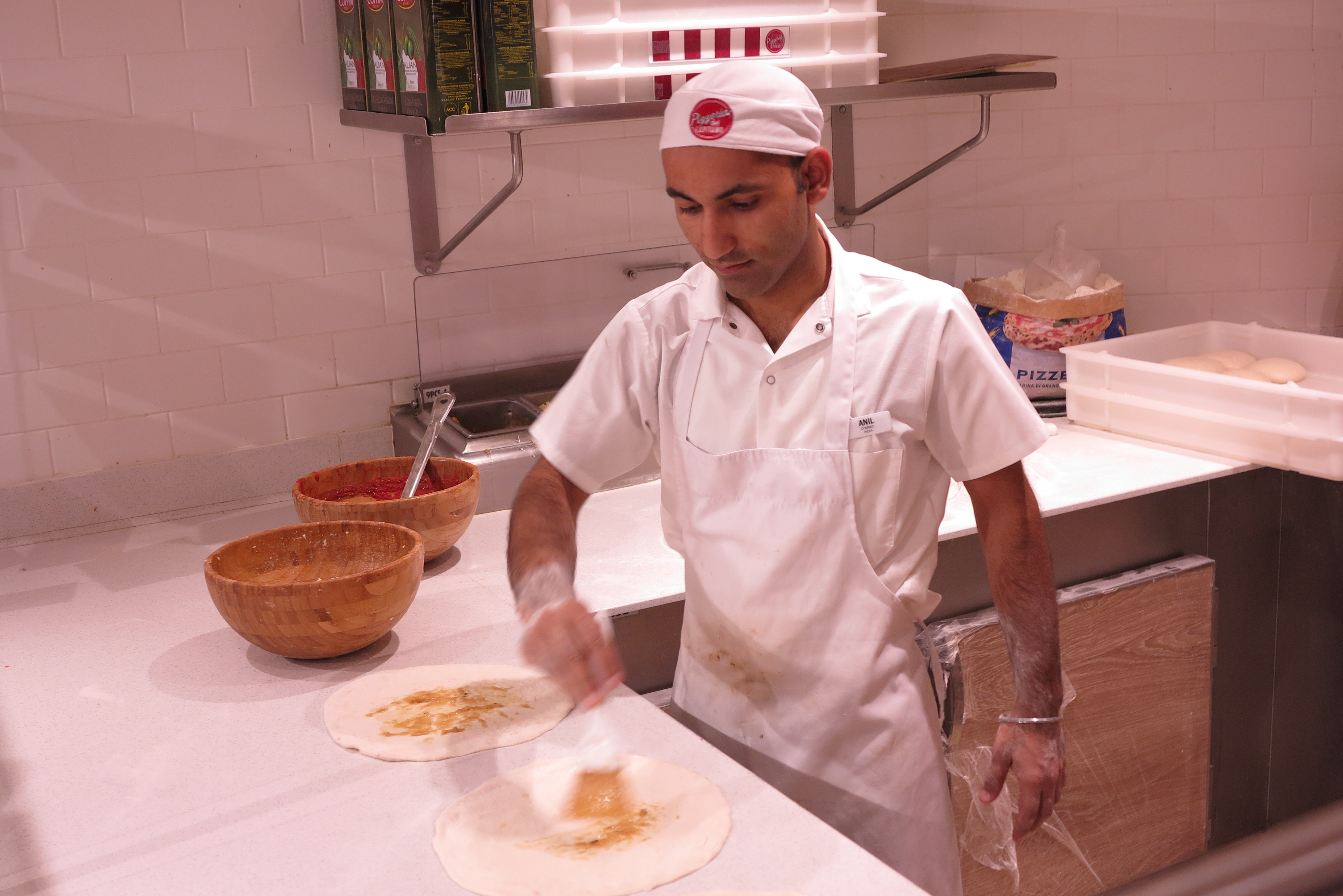 Still hungry? Check out the 24/7 hand-made pizza