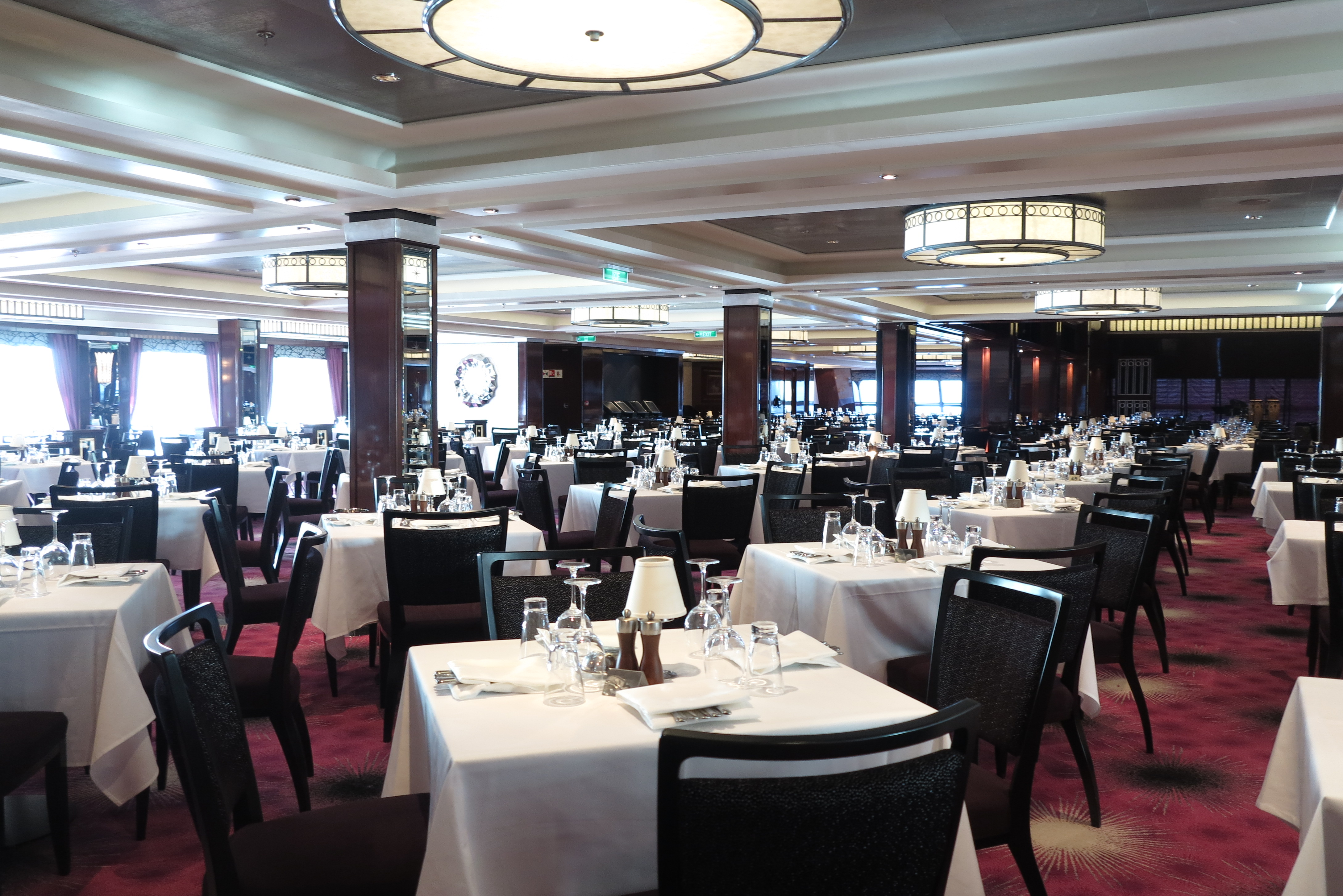 Stylish: The Tropicana Room Restaurant (Picture: Dave Monk)