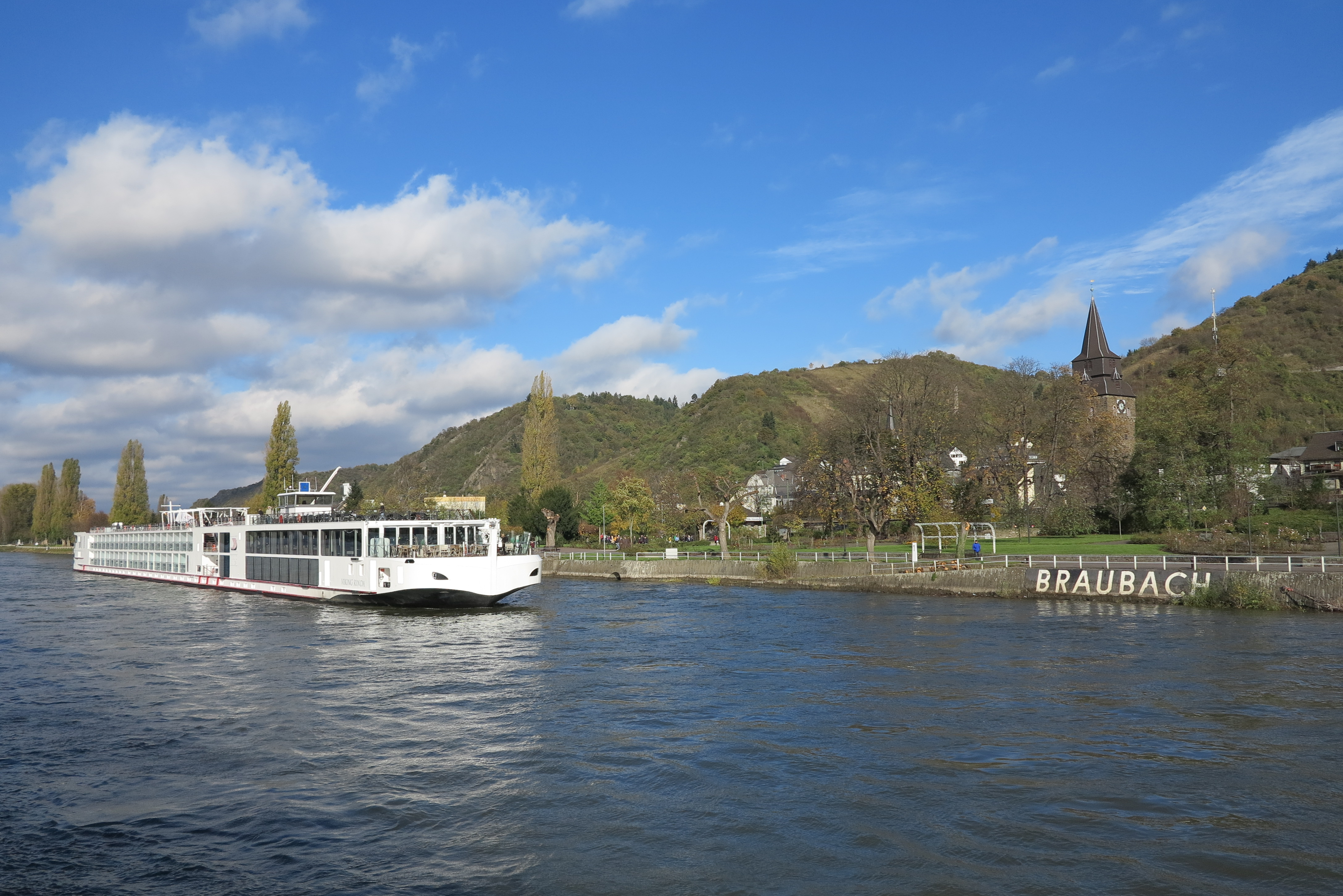 Taking it easy: Cruising along the Rhine in 2013 with Viking
