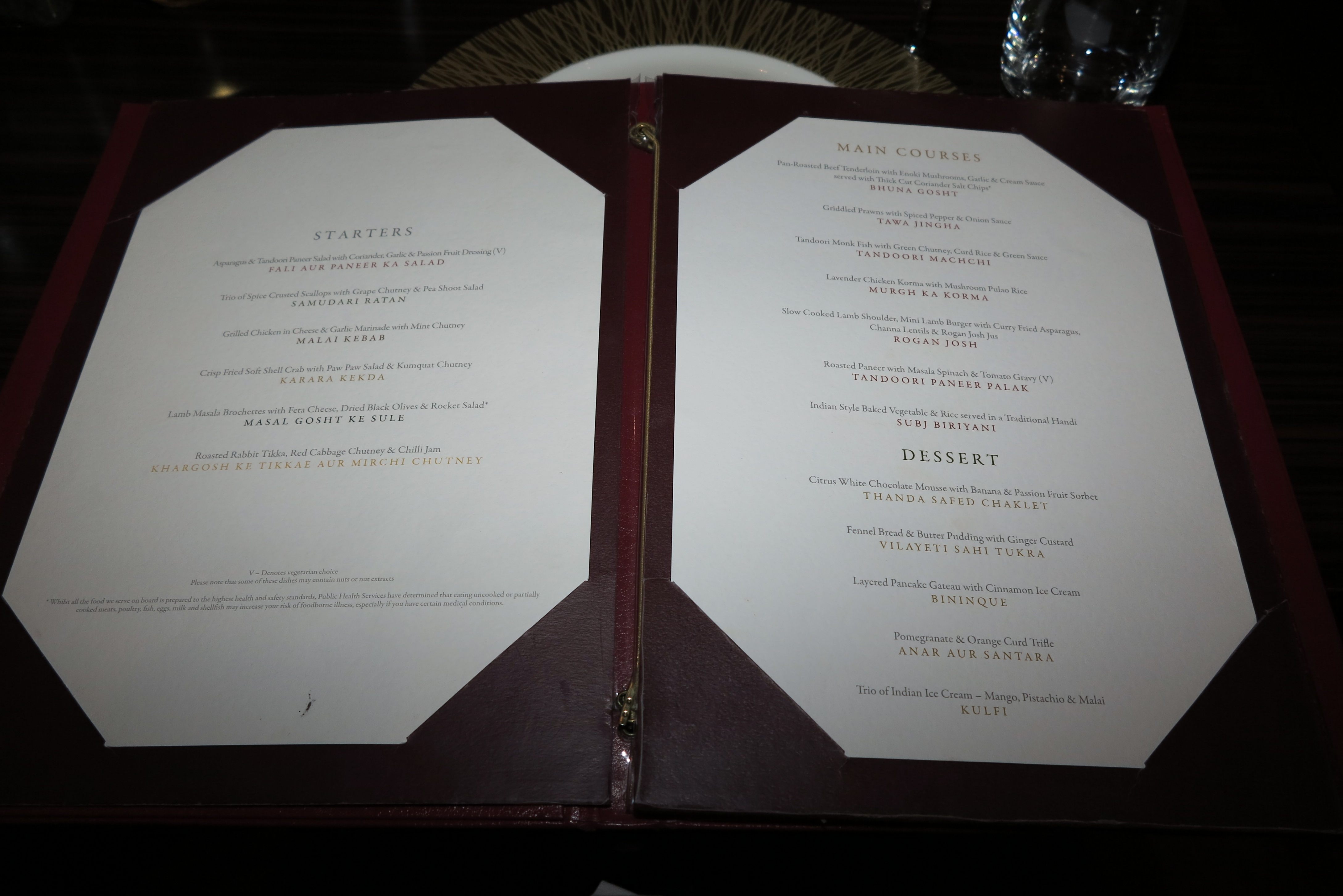 Eastern promise: Our menu at Sindhu