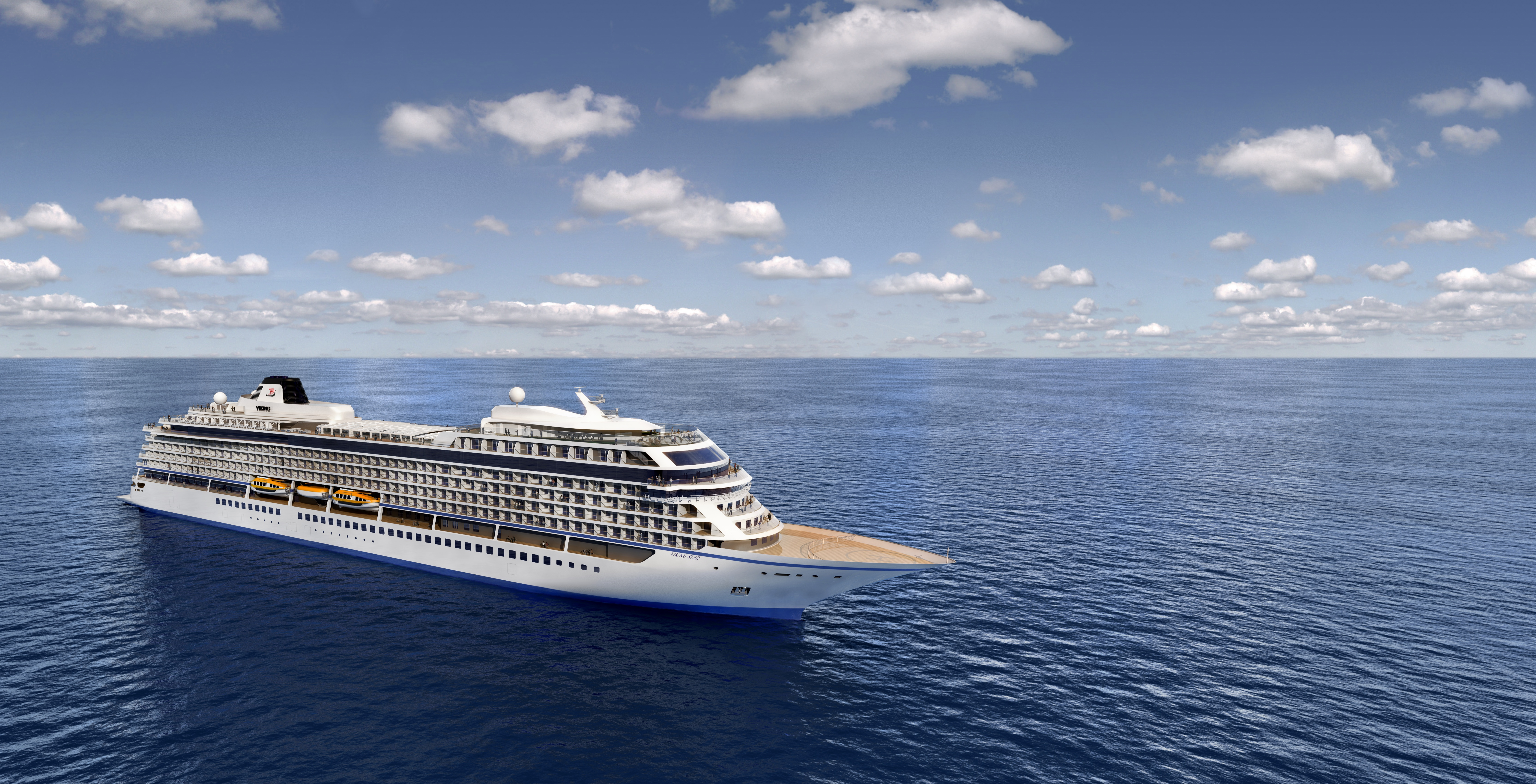 Star achiever: Viking's new ocean-going ship, due to launch next year
