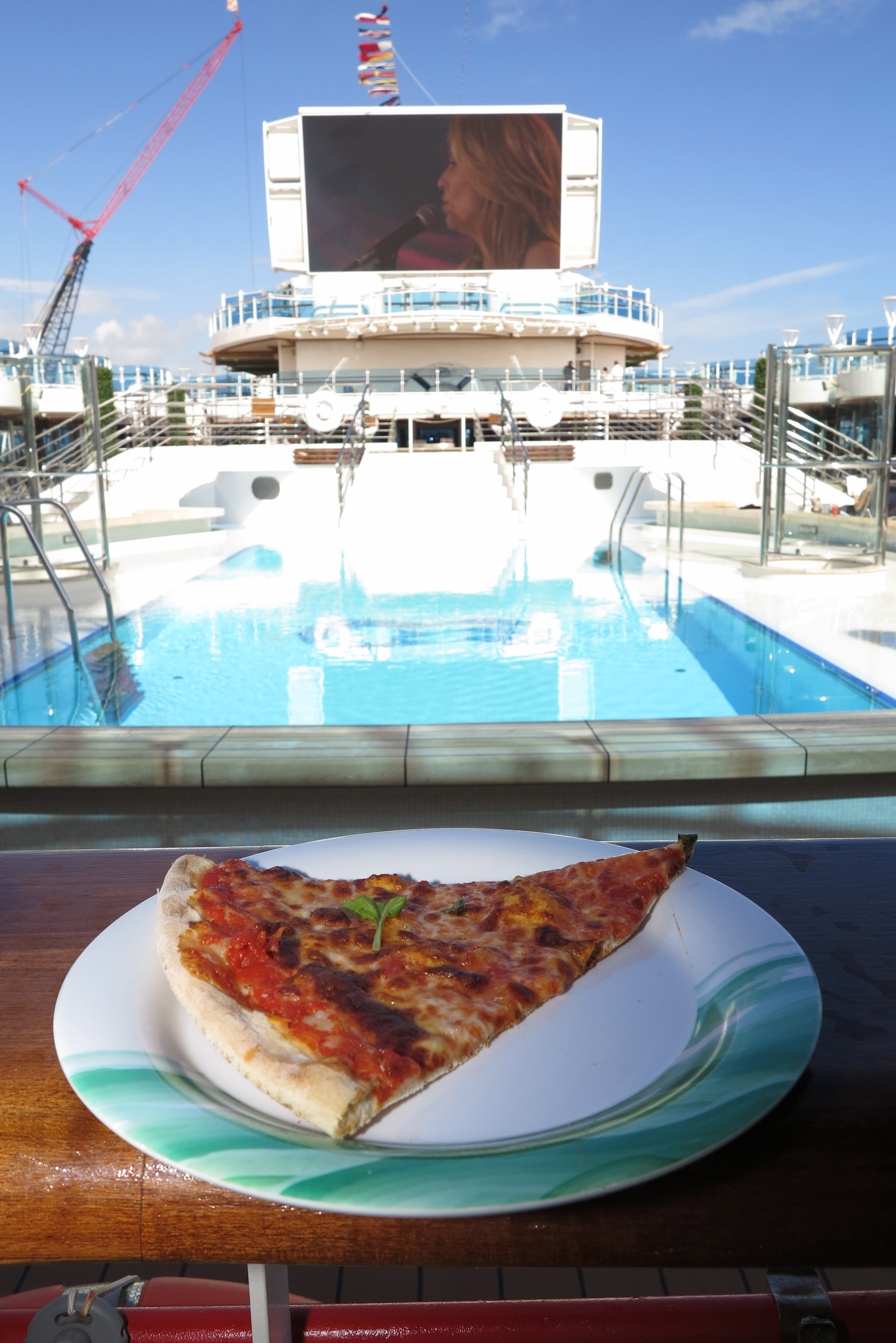 ...but you still have to go a long way to beat pizza by the pool