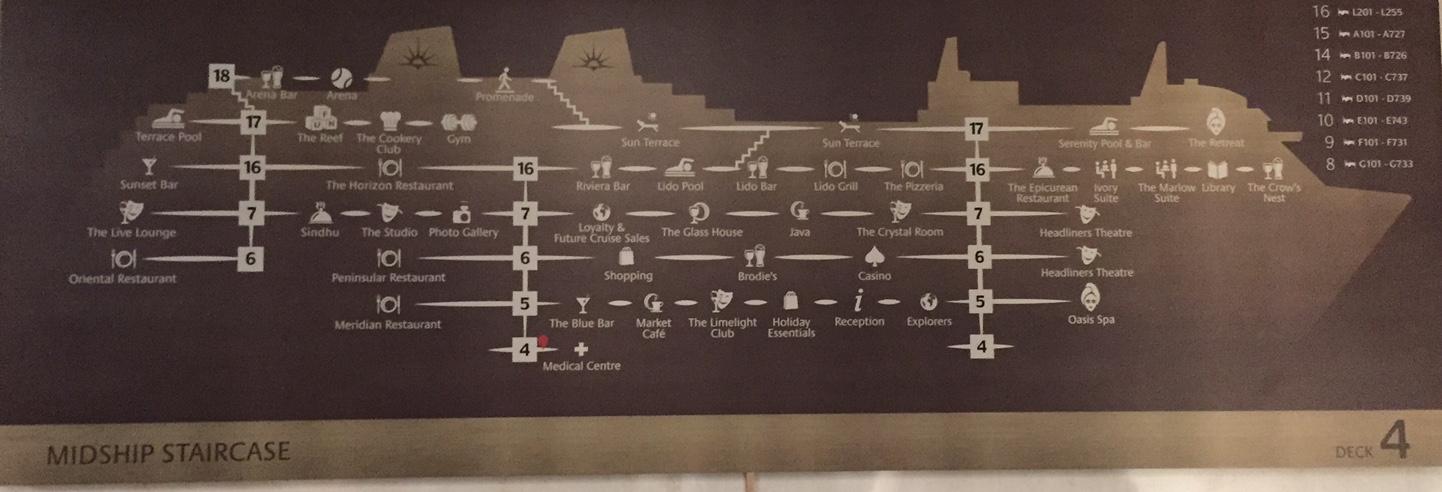 Ship shape: A guide to Britannia's decks