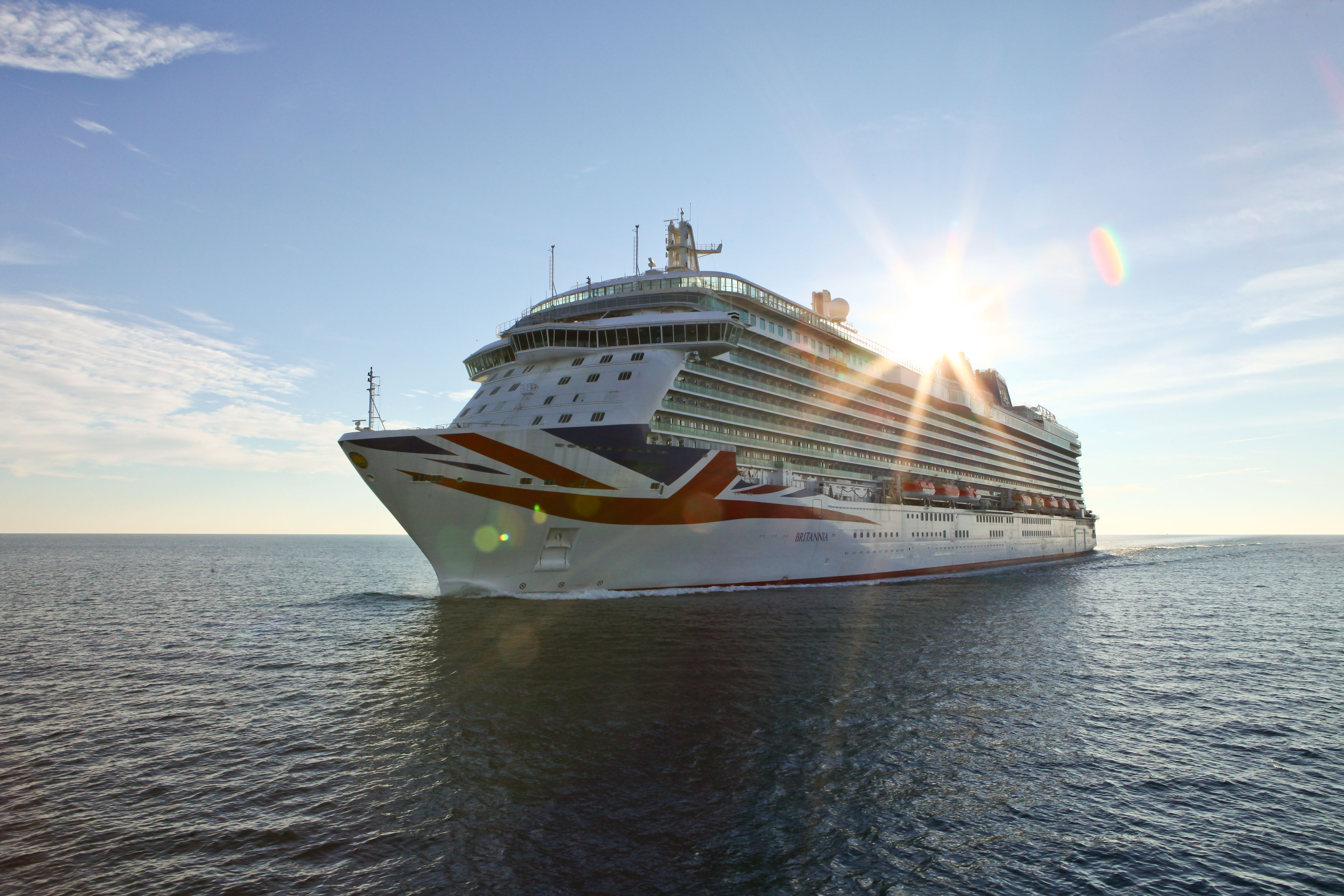 Flying the flag: Britannia (Picture: P&O Cruises)