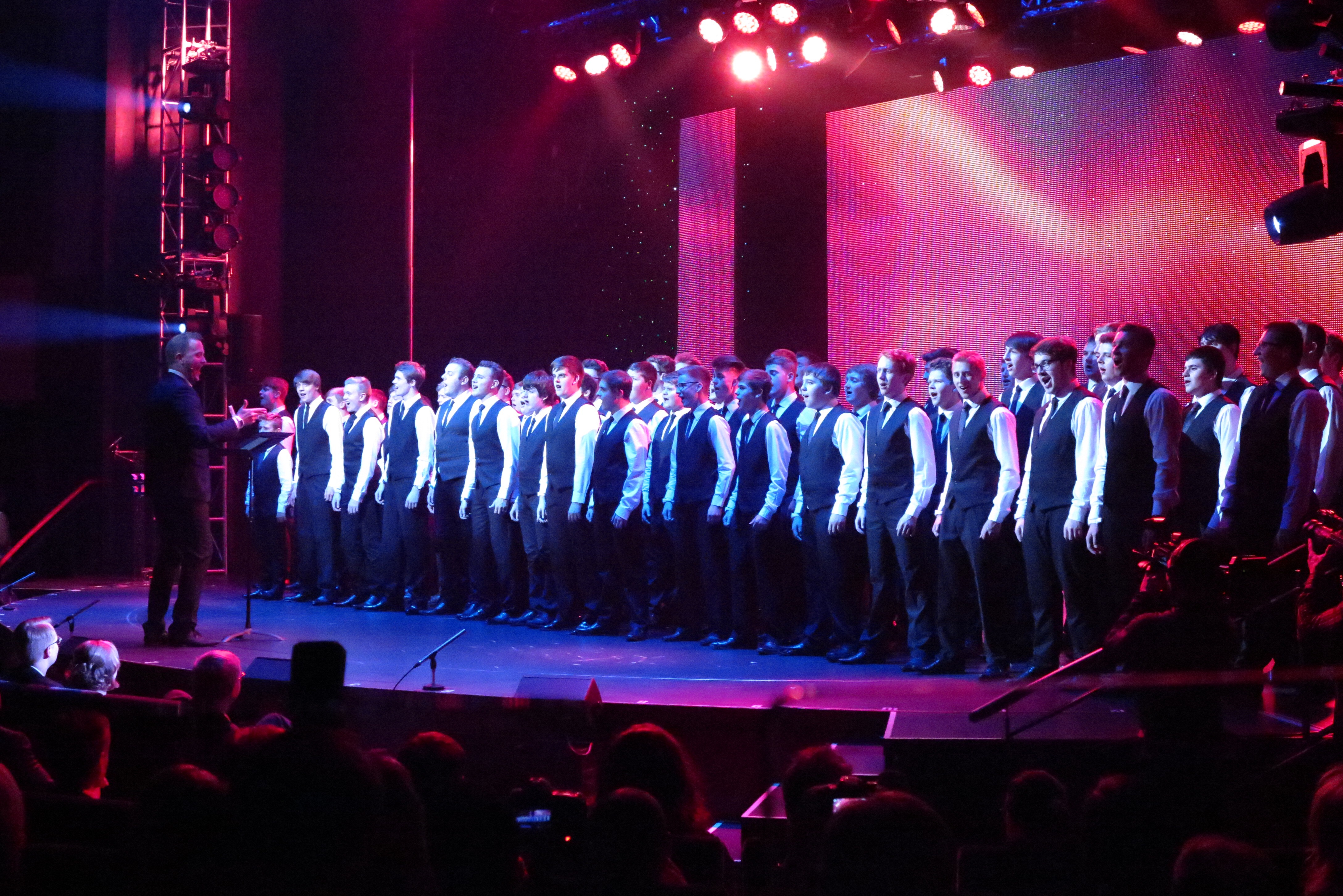 In song: Only Boys Aloud