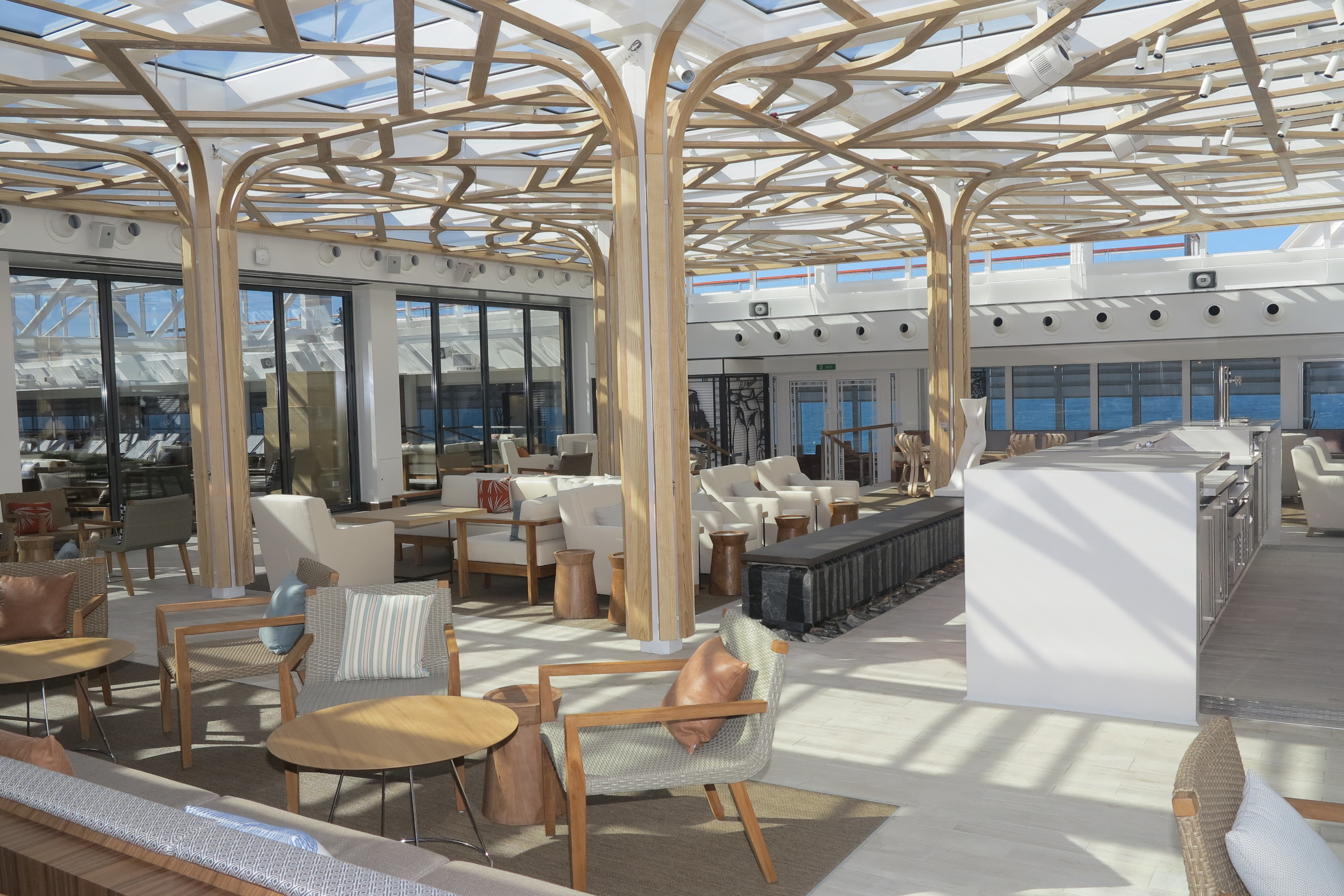 Traditional: The Wintergarden serves afternoon tea