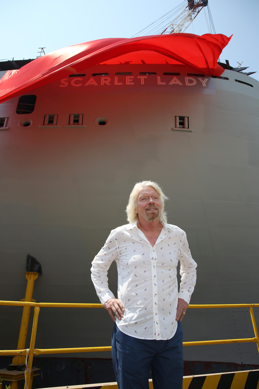 Virgin Voyages Unveils Vitamin Sea with Sir Richard Branson