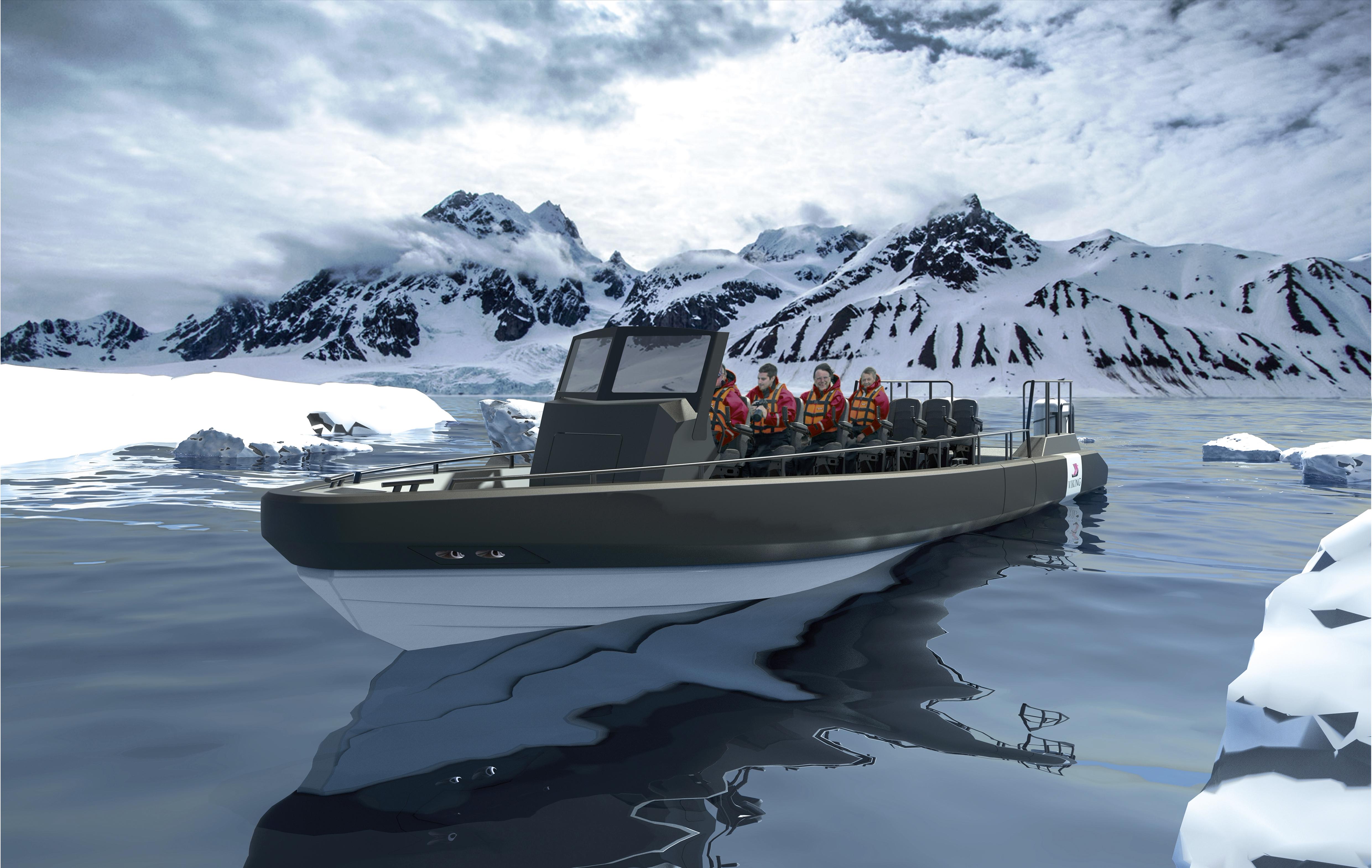Viking Expedition Ship Convertible RIB Excursion