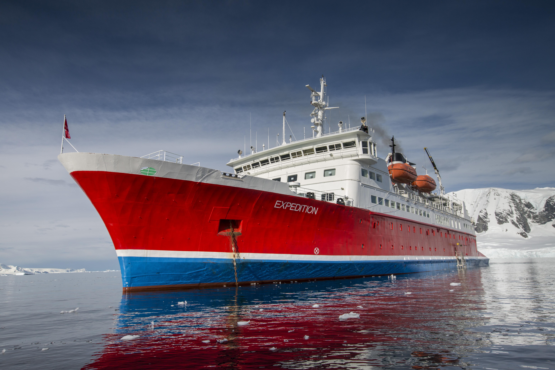G Adventures Antarctica Expedition Ship Bow Exterior - 1N9A1646 Lg RGB